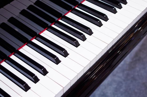 Instrument de musique de fond de clavier de piano