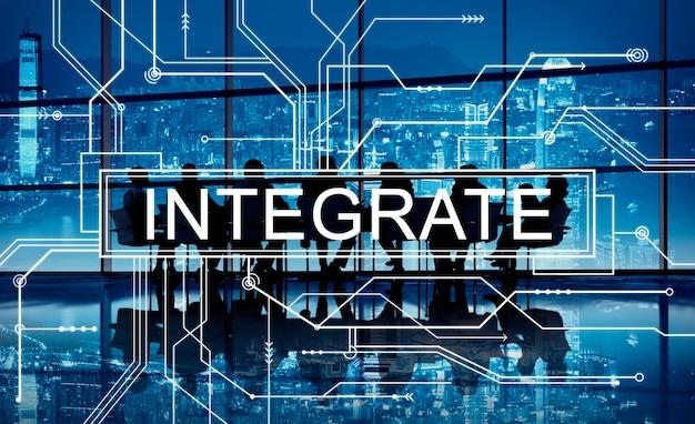Intégrer le concept graphique de circuit imprimé