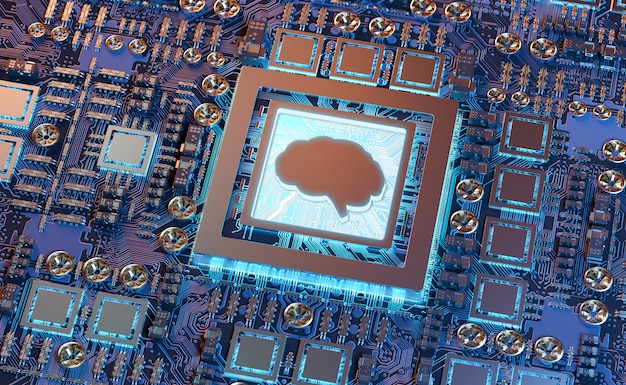 Intelligence artificielle dans une carte graphique moderne