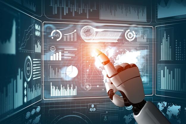 Intelligence artificielle futuriste