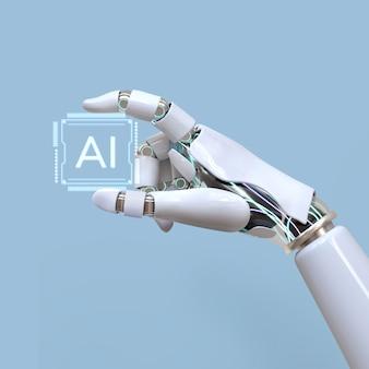 Intelligence artificielle à puce ia, future innovation technologique