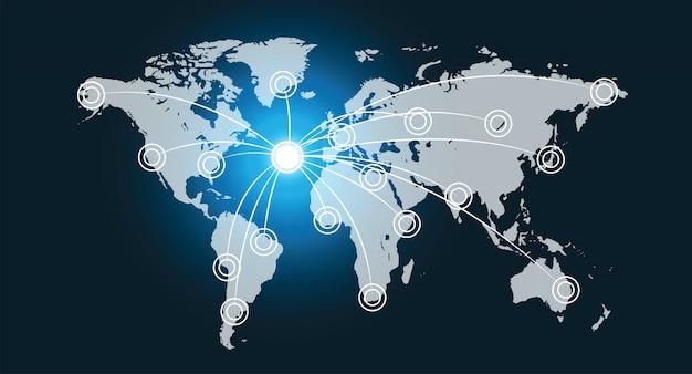 Interface de réseau de données mondiale