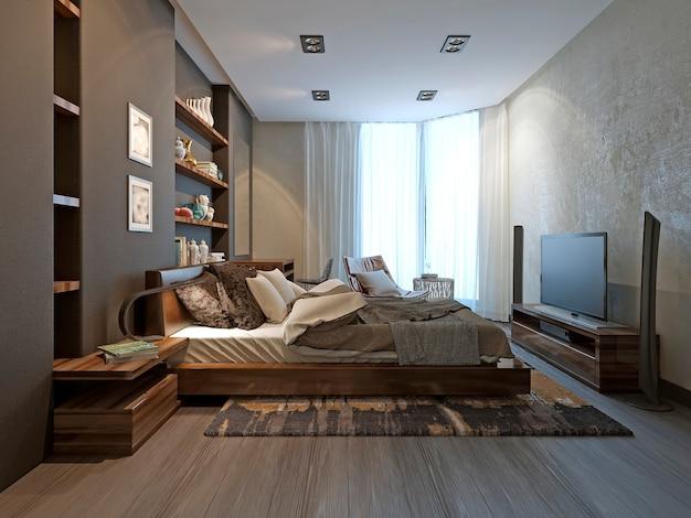 Intérieur de la chambre dans un style moderne