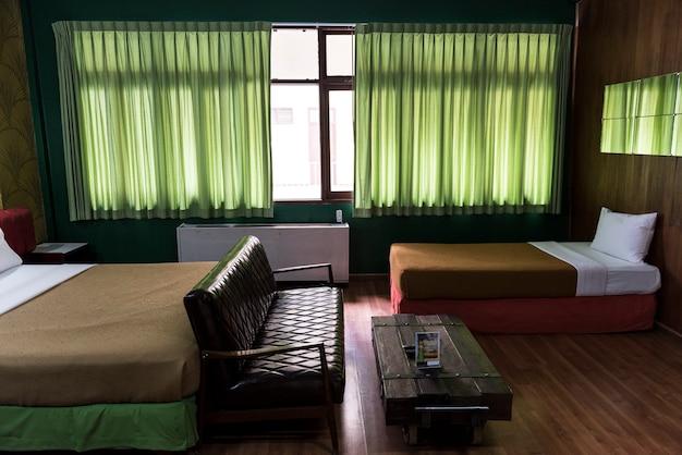 Intérieur de la chambre