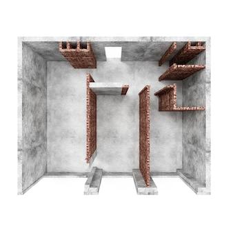 Intérieur en construction