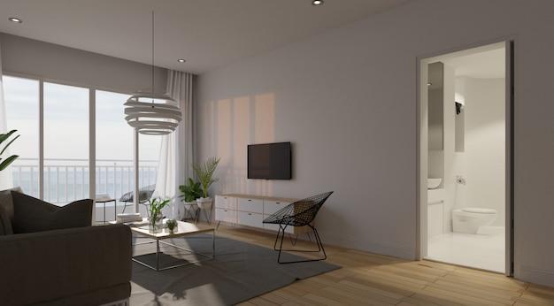 Intérieur du salon moderne