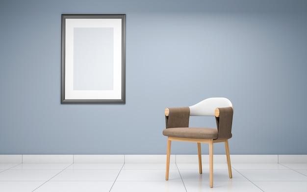 Intérieur du salon réaliste