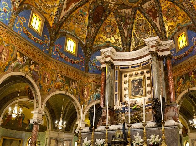 Intérieur du sanctuaire de pompéi