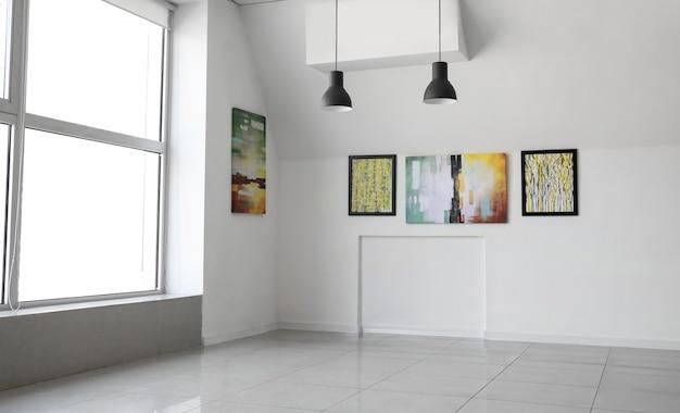 Intérieur de la galerie d'art moderne