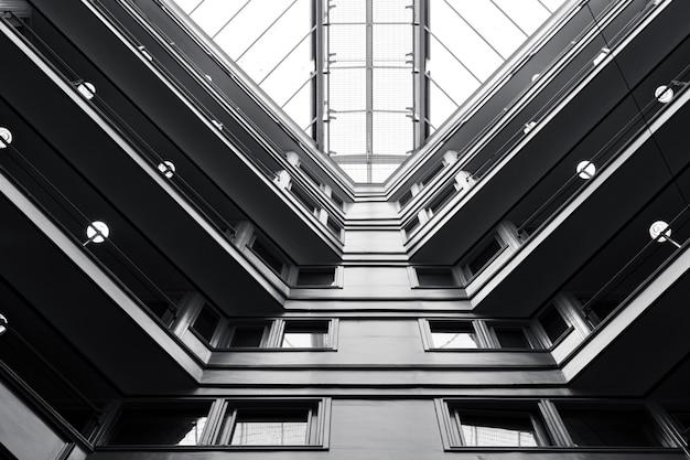 À l'intérieur d'un immeuble de liverpool