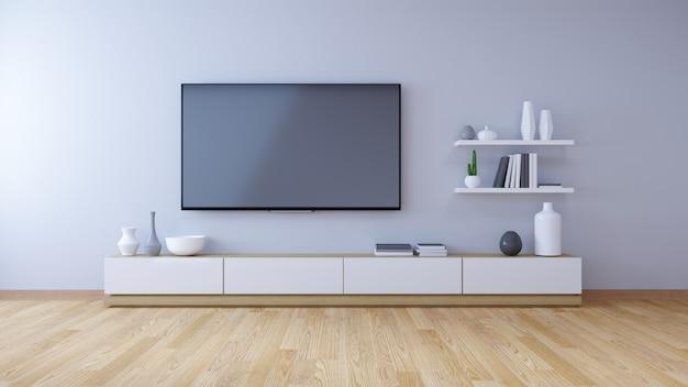 Intérieur moderne du salon et style cozy living