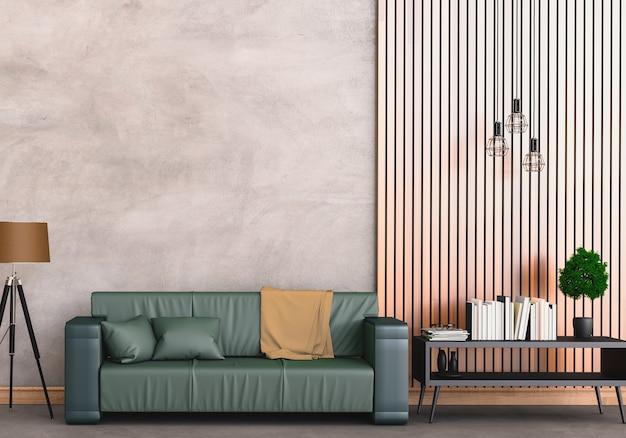 Intérieur moderne salon