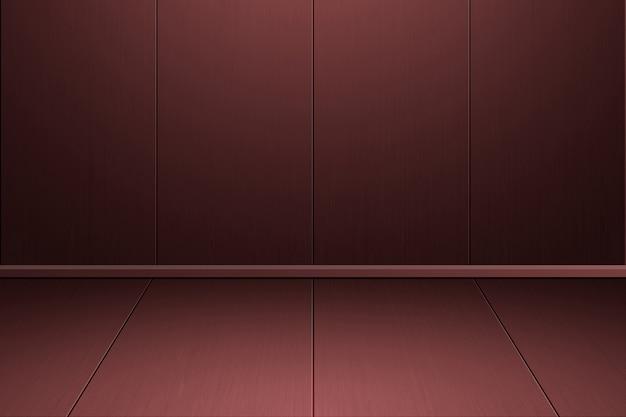 Intérieur de la pièce vintage avec des carreaux de bois