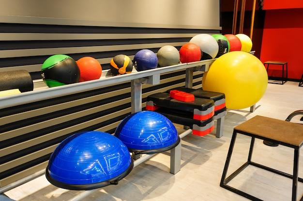 Intérieur de la salle de sport moderne
