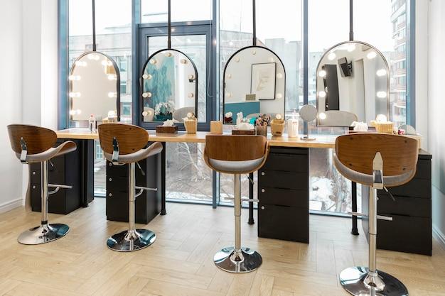 Intérieur de salon de beauté moderne