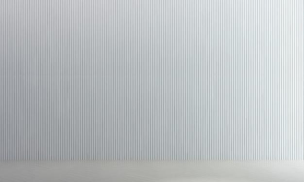 Intérieur de salon vide moderne et décoration de meubles et fond de mur blanc