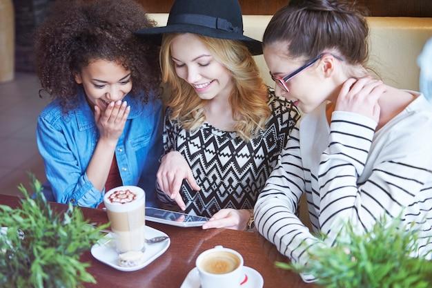Internet sans fil au café