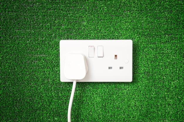 Interrupteur électrique pour le concept d'énergie verte
