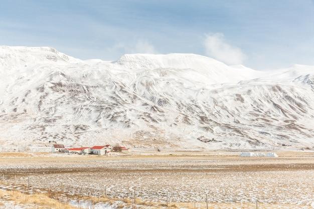 Islande paysage d'hiver