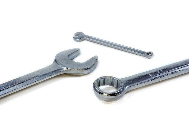 L'isolé des outils à main avec fond blanc