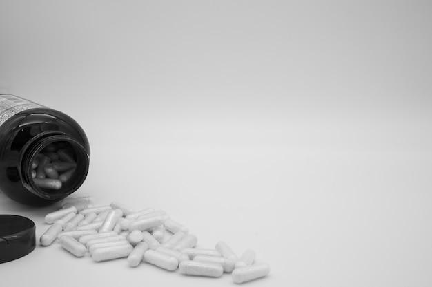 Isoler les capsules / pilules / comprimés