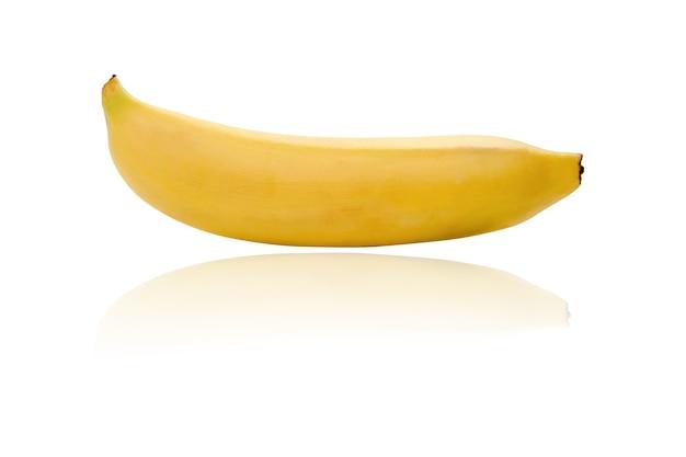 Isoltad banane jaune sur fond blanc
