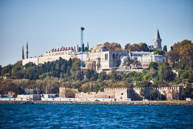 Istanbul, turquie - 11 octobre 2019 : palais de topkapi istanbul turquie