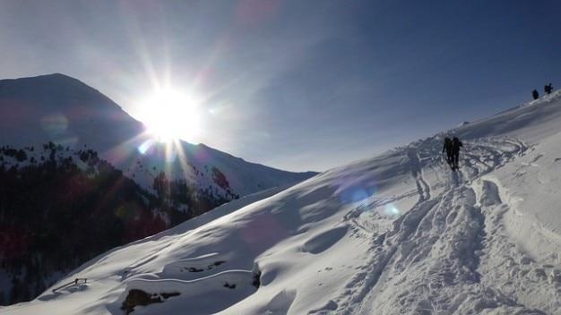 Italie plat rojental tyrol ski belle tournée sud