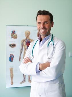 J'essaye d'être le meilleur docteur