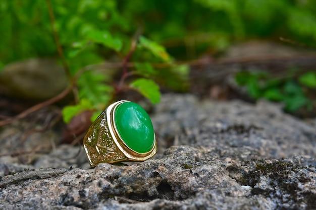 Jade goldring greenjade