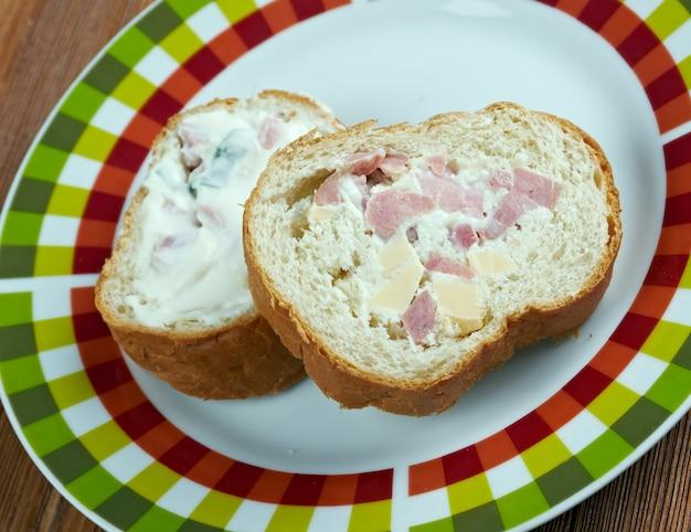 Jagerwecken - rouleau de chasse allemand. sandwich