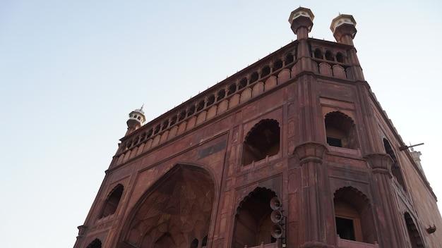 Jama masjid, old delhi, inde