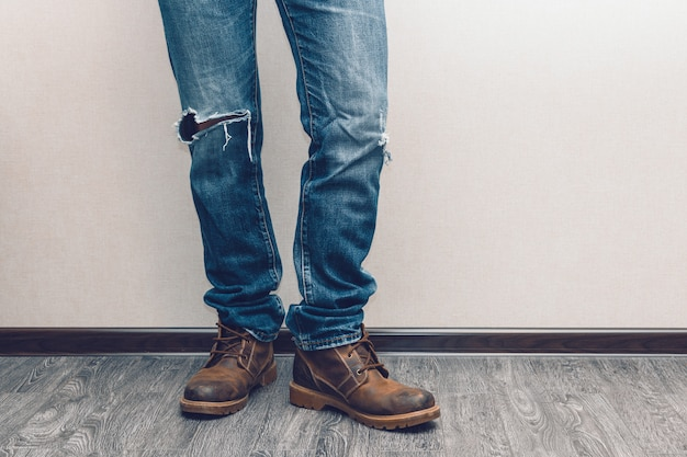 Jambes de l'homme