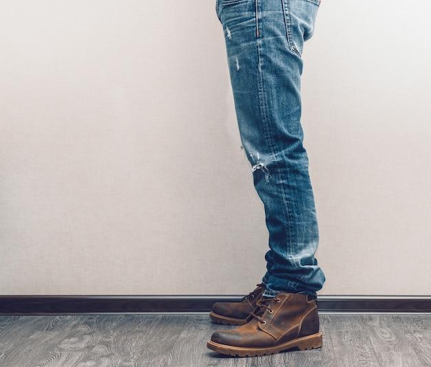 Jambes d'homme
