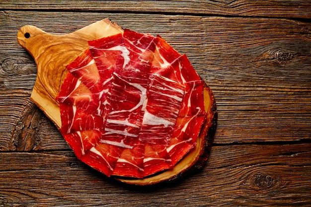 Jambon jamon iberico d'espagne andalouse