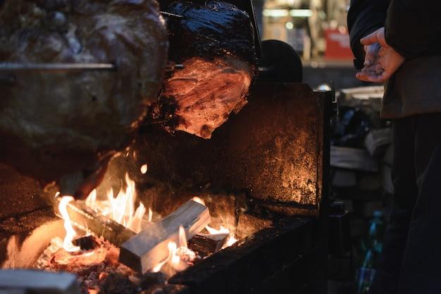 Jambon de prague au marché de noël