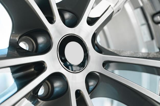 Jante en aluminium de détail de roue de voiture de luxe