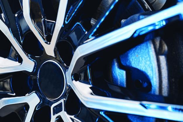 Jante en aluminium de roue de voiture de luxe