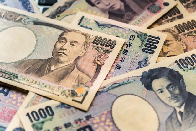 Japon billets d'argent yen