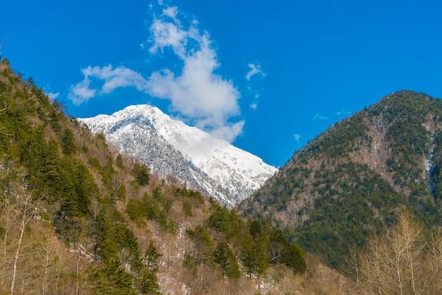 Japon winter mountain