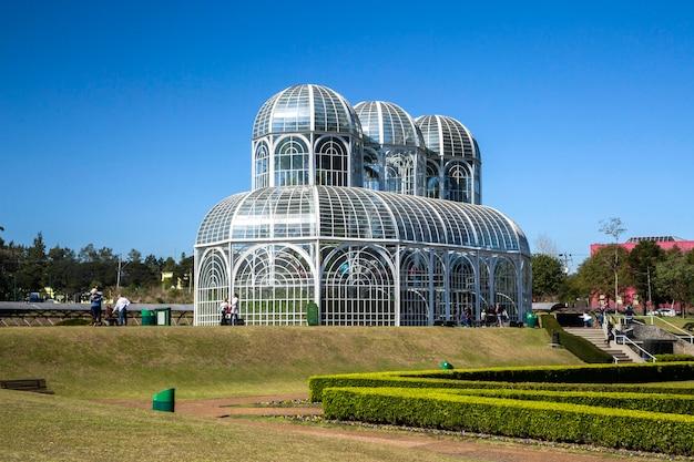 Jardin botanique de curitiba, parana.