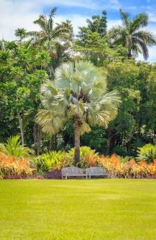 Jardin botanique naturel