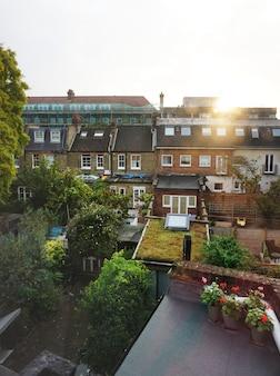 Jardin dans la ville