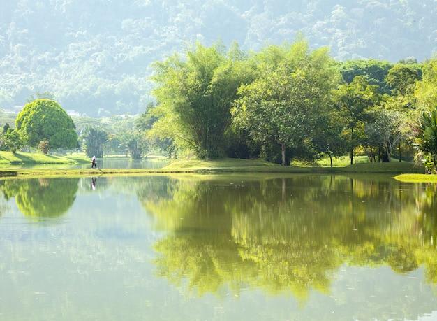 Jardin du lac