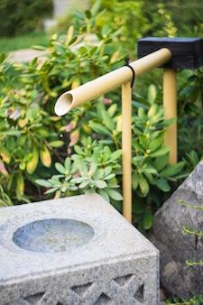 Jardin japonais à tbilissi, géorgie