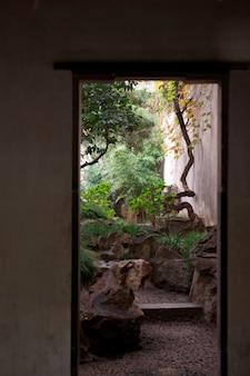 Jardin persistant, suzhou, province du jiangsu, chine