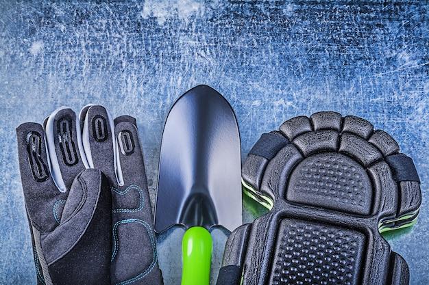 Jardinage gants de sécurité genouillères pelle à main