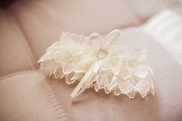 Jarretière de la mariée, accessoires de la mariée