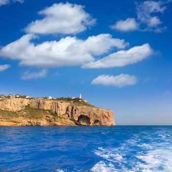 Javea cabo la nao phare méditerranée espagne