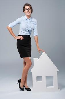 Je peux vous aider à vendre la maison